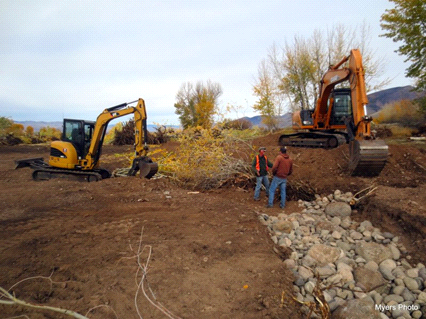 2014 Mill Creek Channel Construction
